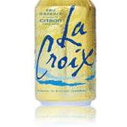 LACROIX LEMON MINERAL WATER CAN 24CT